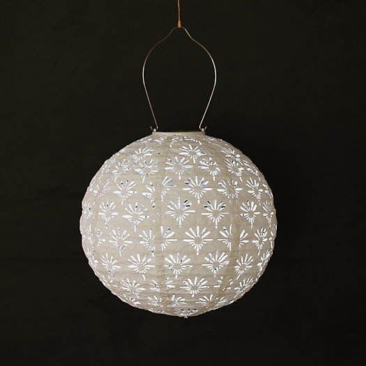 View larger image of Deco Lace Solar Lantern