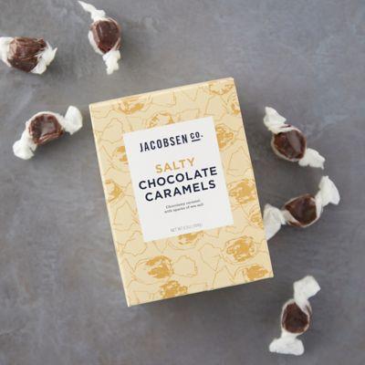 Salty Chocolate Caramels