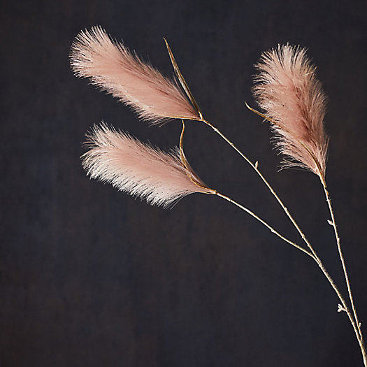 View larger image of Faux Varia Feather Spray