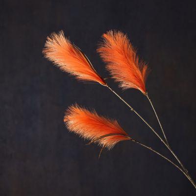 Faux Varia Feather Spray