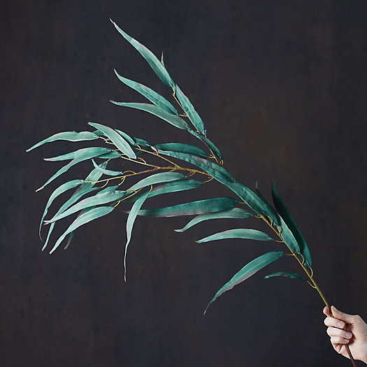 View larger image of Faux Eucalyptus Leaf Spray