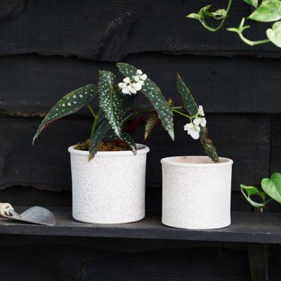 Rounded Edge Ceramic Jar Pot
