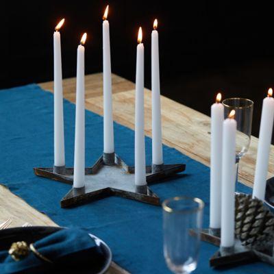 Star Candlestick Dish