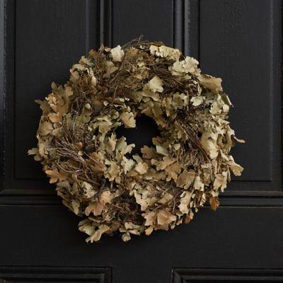 Dried Oak Wreath