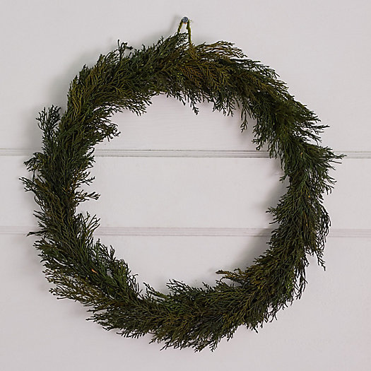 View larger image of Preserved Cypress Wreath