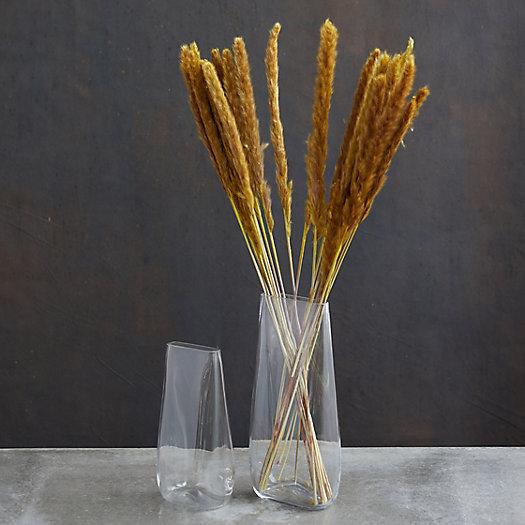 View larger image of Flat Bottom Glass Vase
