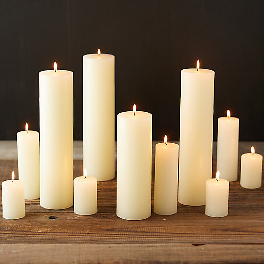 View larger image of Pillar Candle, Unscented