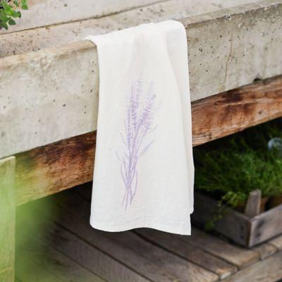 Lavender Cotton Dish Towel