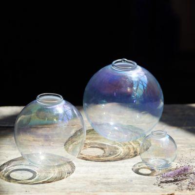 Iridescent Bauble Bud Vase