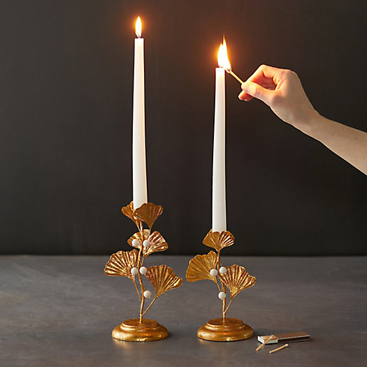 View larger image of Ginkgo Candlestick