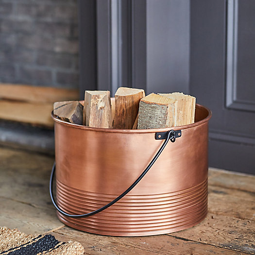 View larger image of Copper Log Holder