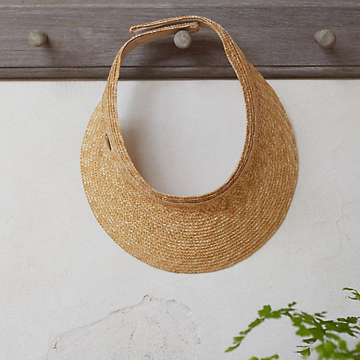 View larger image of Woven Straw Visor
