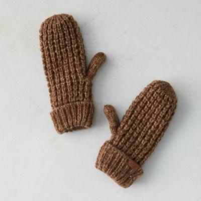 Fleece Lined Cozy Knit Mittens