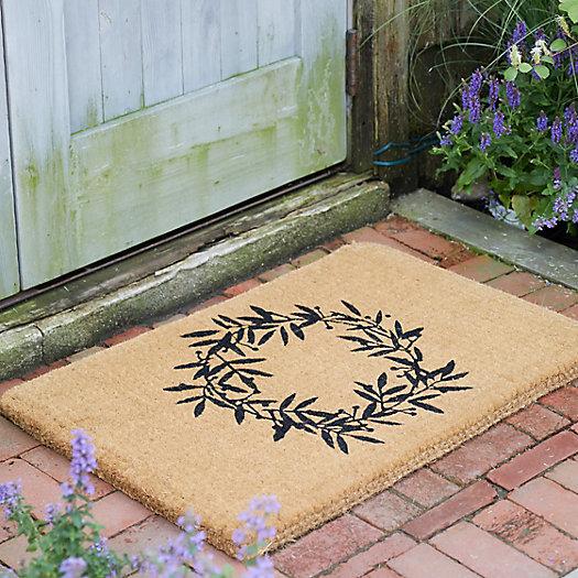 View larger image of Wreath Coir Doormat