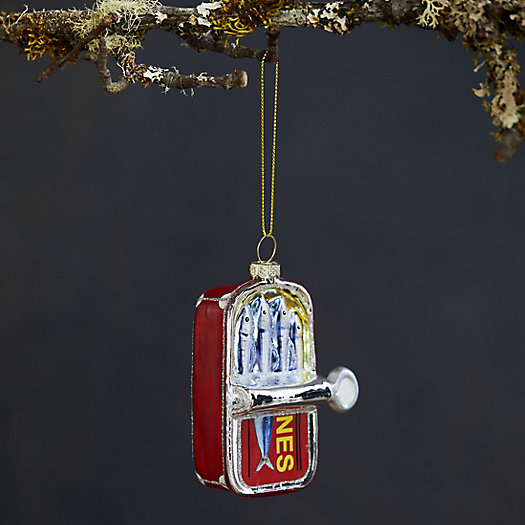 View larger image of Sardines in a Can Glass Ornament