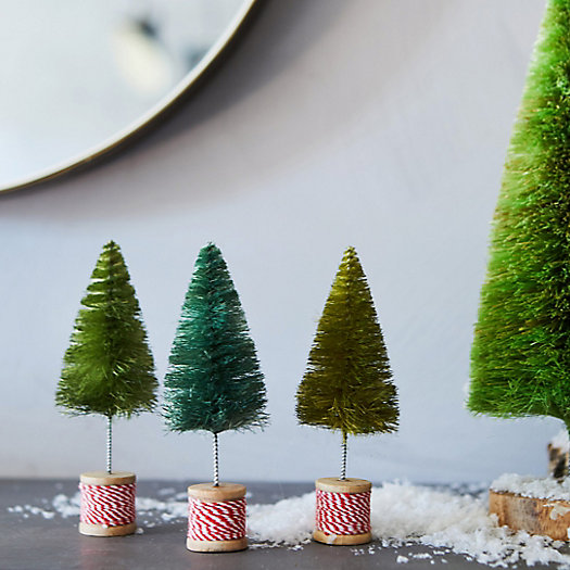 View larger image of Brush Tree Spools, Set of 3