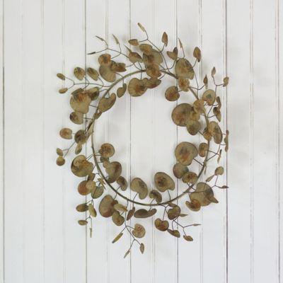 Iron Eucalyptus Wreath