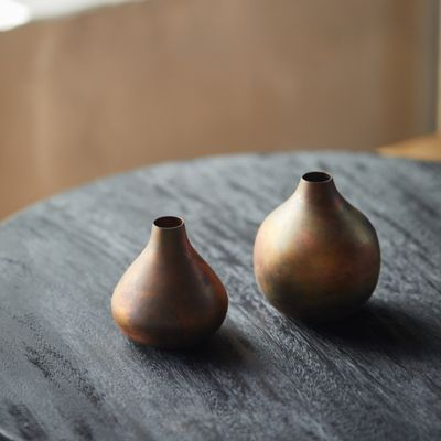 Antiqued Bud Vase