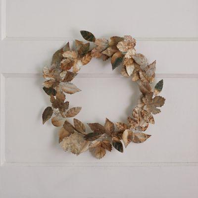 Leafy Iron Wreath