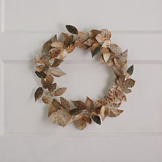 View larger image of Leafy Iron Wreath