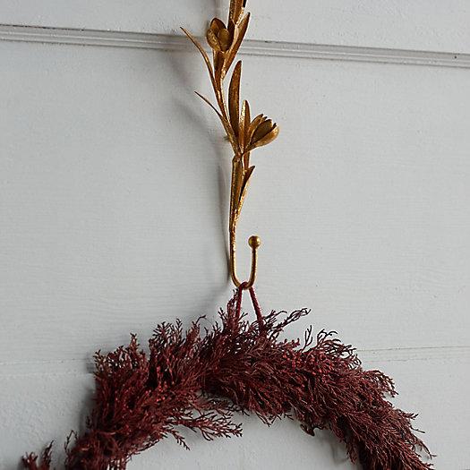 View larger image of Crocus Iron Wreath Hanger