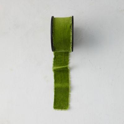 Antiqued Frayed Velvet Ribbon