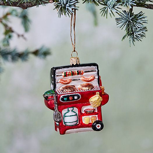 View larger image of Barbecue Glass Ornament