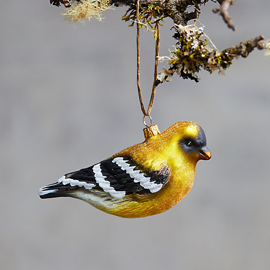 View larger image of Goldfinch Glass Ornament