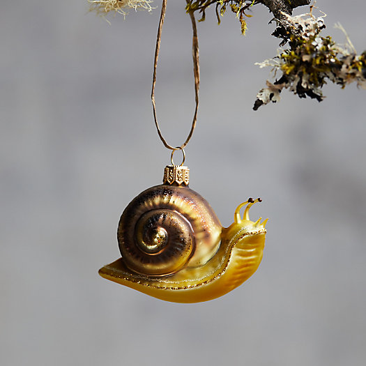 View larger image of Snail Glass Ornament