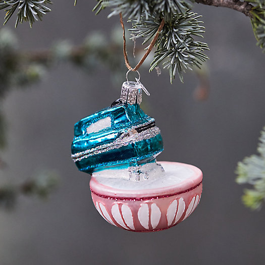 View larger image of Mixer + Bowl Glass Ornament