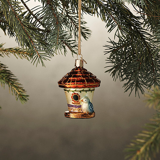 View larger image of Birdhouse Glass Ornament