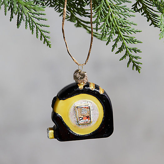 View larger image of Tape Measure Glass Ornament