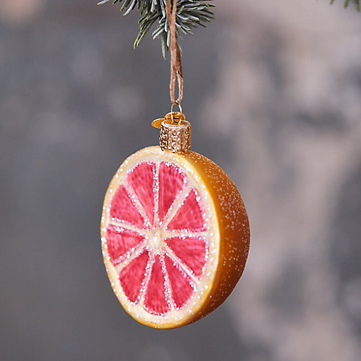 View larger image of Grapefruit Glass Ornament