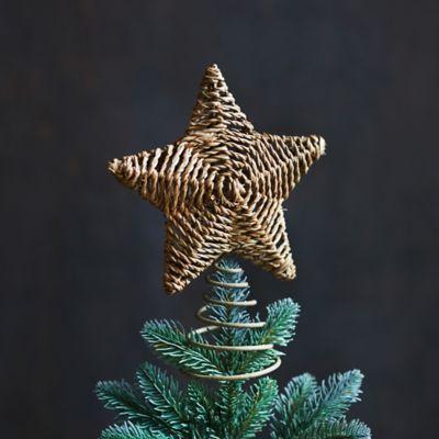 Woven Star Tree Topper