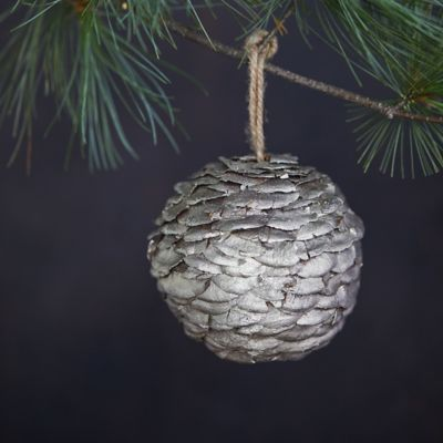 Pine Cone Ball Ornament