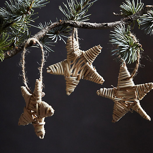 View larger image of Vine Star Ornaments, Set of 40