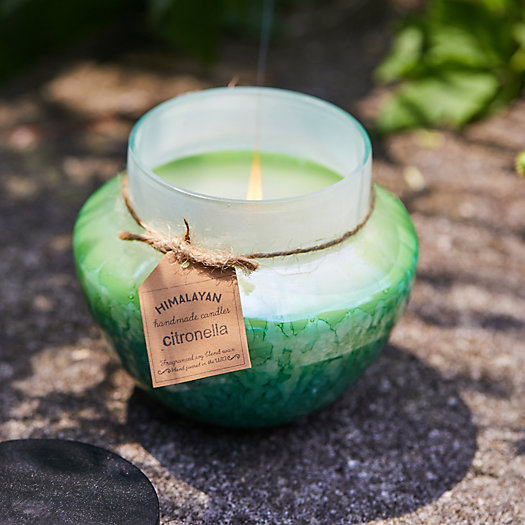 View larger image of Himalayan Watercolors Candle, Citronella