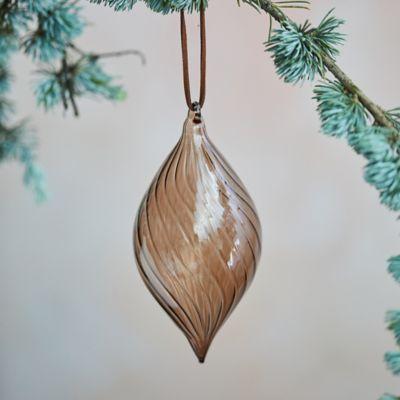 Droplet Glass Ornament
