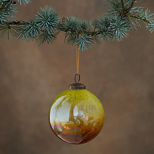 View larger image of Iridescent Glass Globe Ornament