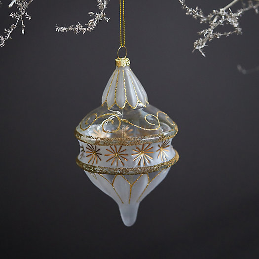 View larger image of Deco Droplet Glass Ornament