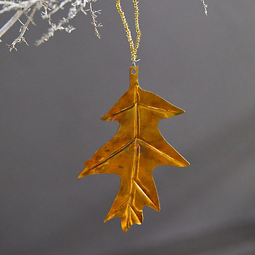 View larger image of Leaf Brass Ornament
