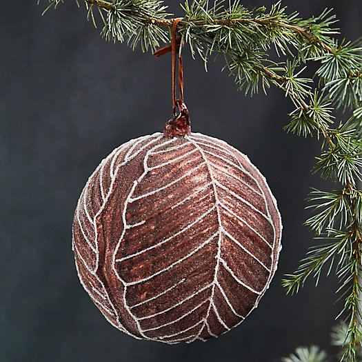 View larger image of Red Cabbage Glass Globe Ornament