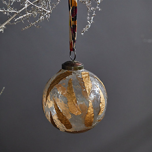 View larger image of Gold Leaf Globe Ornament