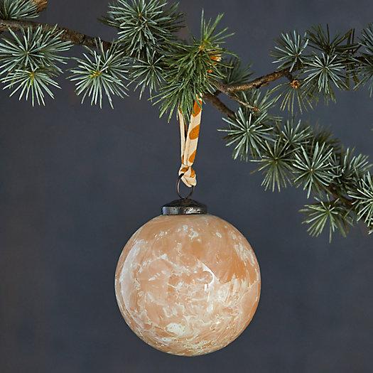 View larger image of Sandy Swirls Glass Globe Ornament