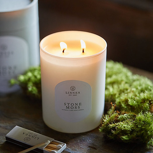 View larger image of Linnea Candle, Stone Moss