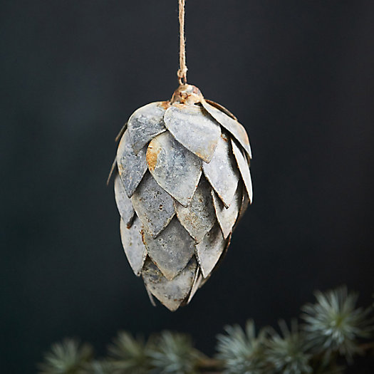 View larger image of Metal Pinecone Ornament