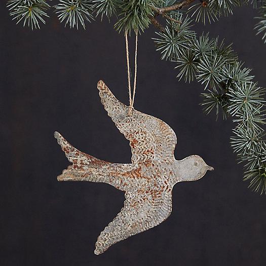 View larger image of Zinc Bird Ornament