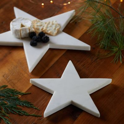 Marble Star Serving Board