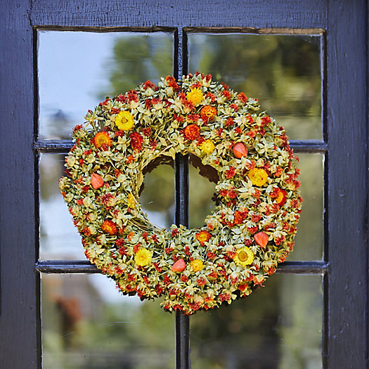 View larger image of Preserved Safflower Wreath