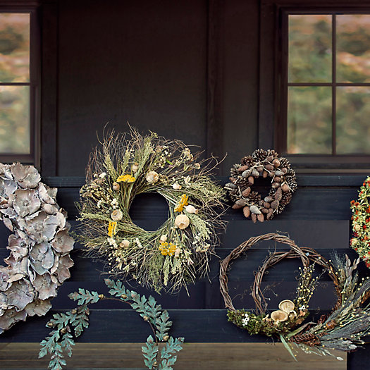 View larger image of Preserved Yarrow + Poppy Wreath